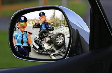 תאונה עם משטרה